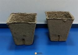 Торфяной горшочек квадратный (80 мм) - фото 7170