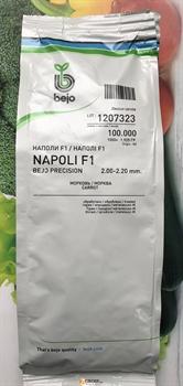 Семена моркови Наполи F1  калиб.2.0-2.2 (100 000 шт) - фото 7595