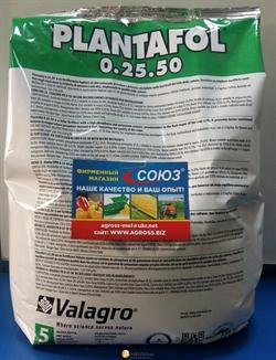 PLANTAFOL 0.25.50 (Плантафол) для листовой подкормки - фото 8016