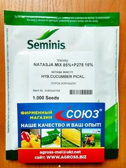 Семена огурца Наташа F1 - фото 8182