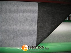 Агроволокно черно-белое П-50 1,6м х 100м с перфорацией - фото 9249