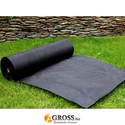 Агроволокно черное П-50 1,07м х 100м с перфорацией - фото 9528