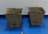 Торфяной горшочек квадратный (80 мм)